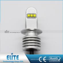 Brilho branco quente das luzes de névoa da lâmpada de sinal do bulbo do diodo emissor de luz do carro F1 H3 de 30W 750LM 12V-24V de vendas