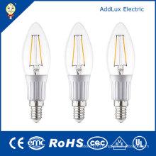 Снимите крышки 3W E27 холодный белый светодиодные лампы накаливания Свеча