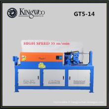 9Kw haute vitesse GT5-14 hydraulique cnc barre d'acier automatique redressage et machine de découpe