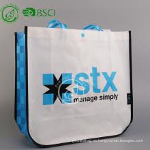 Bolso no tejido laminado pp personalizado reutilizable de los eco