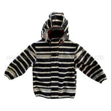 Зебра Светоотражающий пу дождя куртку/плащи