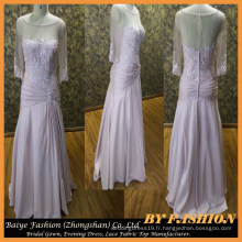 Belle robe de mariage mère rose Big Ass In Evening Dress Photos BYE-14088