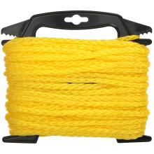 Factory price Yellow polypropylene braided rope 200m 500m 1000m