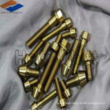 GR5 M6 titanium hexagon inner with conical head bolt