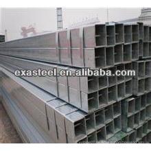 BS1387 verzinktes rechteckiges Stahlrohr