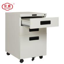 Huadu group office metal 3 drawer recessed handle file cabinet