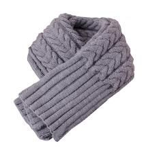 Écharpe d'hiver en tricot côtelé épaisse pour femme (SK101)