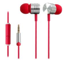 Fones de ouvido estéreo de alta qualidade com microfone para smartphones