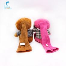 Marioneta de mano linda de encargo de la felpa del oso de peluche