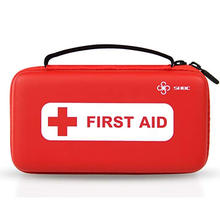 ISO ROHS Approved KF446 mini size red color first aid kit