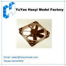 Kundenspezifische Zeichnung Design der Fan machen Prototyp für Kühler Lüfter Kunststoff Modell Fan Prototyp