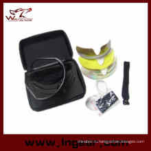 Горячее надувательство C2 Airsoft съемки очки Tacitcal УФ линзы