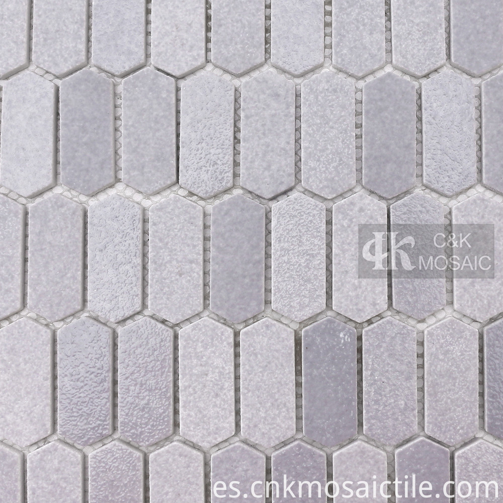 Glass Mosaic Tile Gray