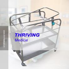 Berceau inclinable pour bébé d'hôpital en acier inoxydable (THR-RBS1)