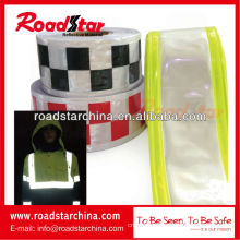 PVC reflective warning tape for clothing