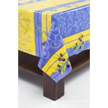 printed transparent PVC table cloth