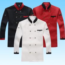 Hotel Chef Jacket Long Sleeved Hotel Restaurant Clothing Men and Women Cooks Clothing