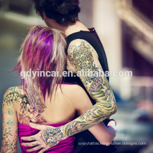 2017 Customized Arm Tattoo sticker with high quality,sex and cool style tattoo sleeves
