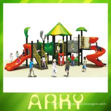 2015 Belle nature verte enfants équipement de terrain de jeux extérieur