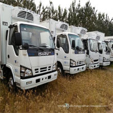 Refrigerated Truck4-5tons Fresh Meat Fish Cooling Van Truck