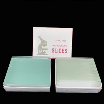 frosted edge microscoop slide cover glas