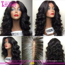 100% Remy человеческих волос шелковые топ полные парики шнурка виргинский бразильский дешевые шелковый топ полное кружева парики