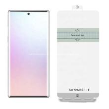 Protecteur d'écran TPU anti-empreintes digitales pour Samsung Note10 Pro