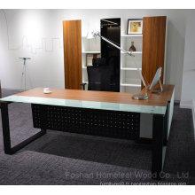 Table de bureau de bureau de bureau en bois de luxe en bois (HF-SIE110)
