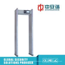 100 níveis de segurança impermeável com detector de metal com tampa impermeável