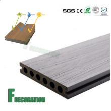 Конкурентоспособная Цена Анти-УФ Водонепроницаемый Открытый деревянный пластичный составной decking