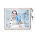 Monitor medico touch screen in plastica ABS + PC