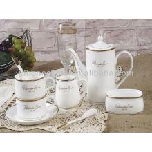 microwave safe ceramic tableware coffee sets wholesale