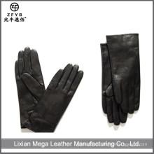 ZF5668 guantes al por mayor de la mano del cuero del vestido de la manera del invierno
