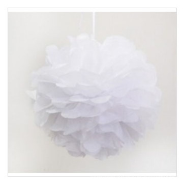 Jubel POM Poms zum Verkauf, White Paper Flower Balls
