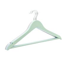 High quality lotus wooden suit hanger coat hanger clothes wood clothes hanger rack for hotel
