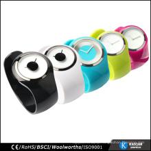 unisex bangle watch vogue, quartz stainless steel watch water resistant
