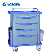 SKR055-MT Medical Equipment Hospital ABS Nursing Clinical Treatment Trolley