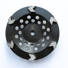 Diamond Grinding Tool Abrasive Tool Diamond Arrow-shaped Cup Wheel