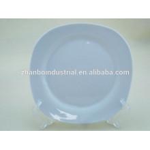 Wholesale cheap bulk white porcelain dinner plates for wedding
