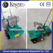 Machine manuelle de nettoyage de balayage de route de plancher en béton