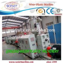 Plastic HDPE PP PPR pipe production line plant machine