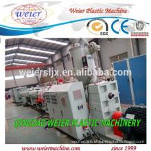 Máquina de planta de linha de produção de tubulação plástica PEAD PP PPR