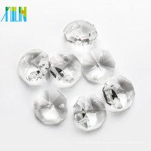 pendente octogonal de cristal para cortina de vidro CP080