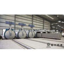 Ligne de production de béton conditionnée à l'autoclave