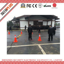 Uvss- Mobile area scan camera Under Vehicle Inspection Surveillance System for hotel
