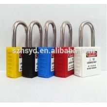 Certificación CE 304 candado de seguridad para grillete de acero inoxidable