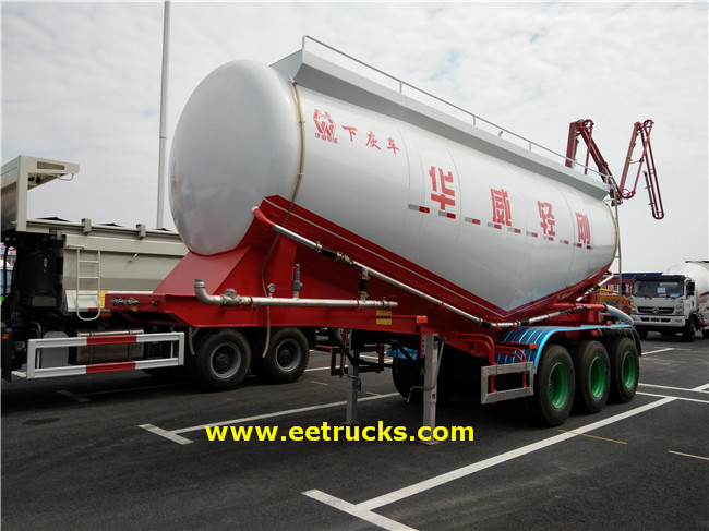 3 Axle Cement Tank Trailers
