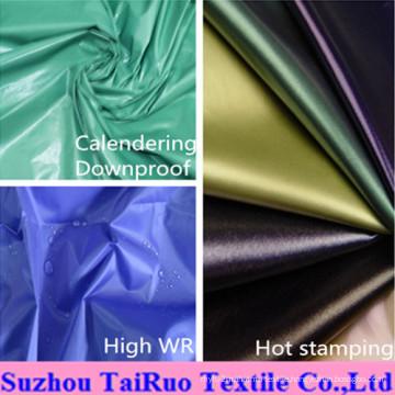 100% Polyester 170t Taffeta190t Taffeta for Garment Lining Fabric