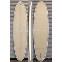 2016 Chaud !!!! placage en bois résine époxy en fibre de verre SUP paddle board / sup en fibre de verre stand up paddle