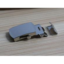 promotional custom metal reversible belt buckle with belt buckle strap